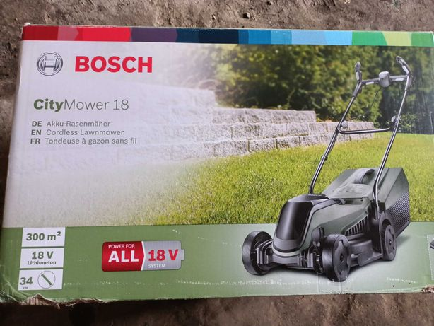 Kosiarka Bosch City Mower 18