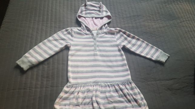 Sukienka Coccodrillo z kapturem r.110