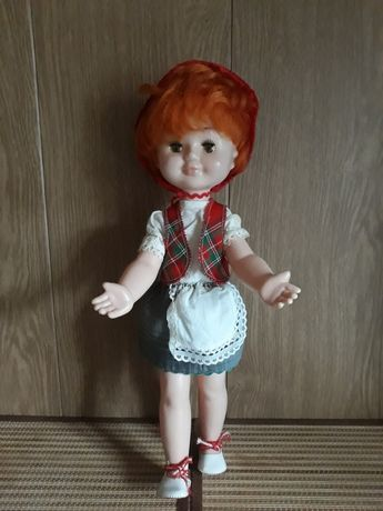 Кукла Красная Шапочка Аским СССР Молдавия.