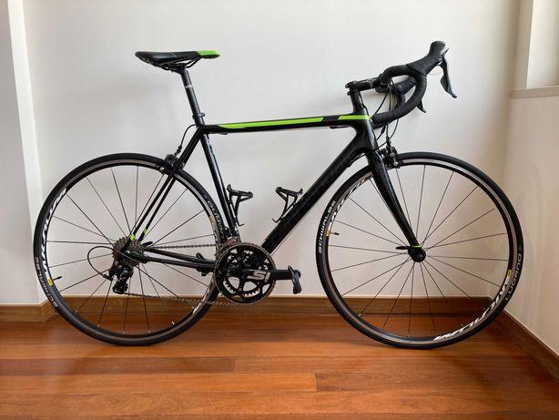 Bicicleta Cannondale SuperSix Evo 105 usada em bom estado