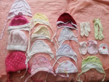 Шапочки, носки и царапочки