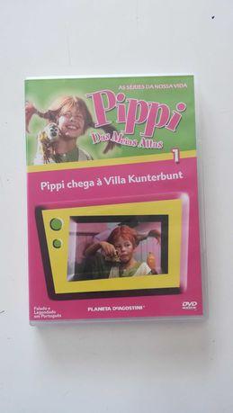 DVD Pippi das meias altas