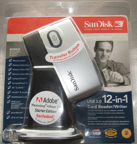 Ultra rápido Leitor de Cartões Sandisk Card Reader/Writer Novo