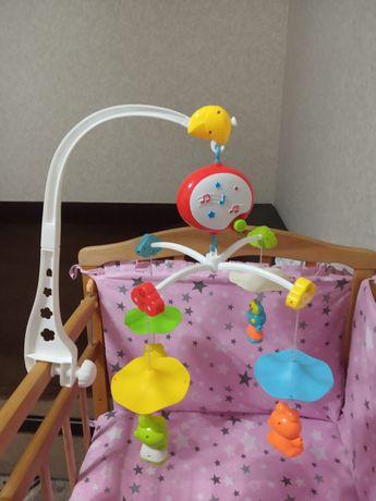 Детская мобиль в кроватку