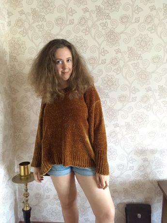 Свитер кофта Zara knit M