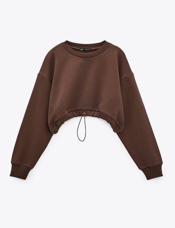Bluza Zara o kroju Cropped