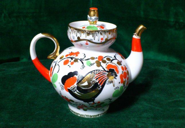 Porcelana Łomonosow – dzbanek, imbryk
