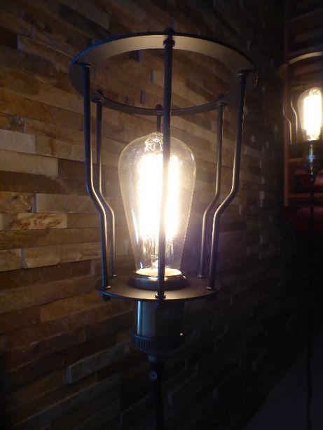 Lampy lampa LOFT klatka industrialna kinkiet wisząca