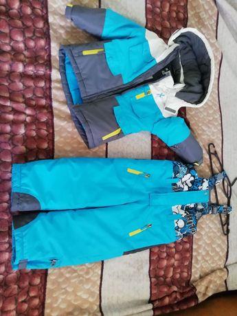 Зимний Термо костюм Chicco 104р. Супер теплый и качественный