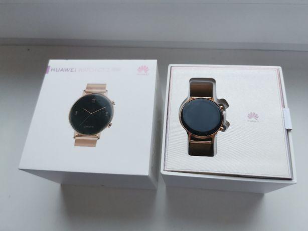"""Huawei Watch GT 2 Elegant 42mm """"GOLD"""" idealny na prezent/ NOWY"""
