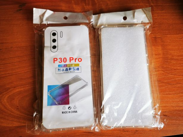 Etui Huawei P30Pro Transparent 2szt Nowe