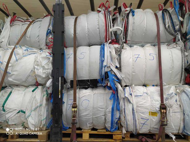 Worek typu Big bag Wymiar 90/90/160 cm do dużych ilości zboża