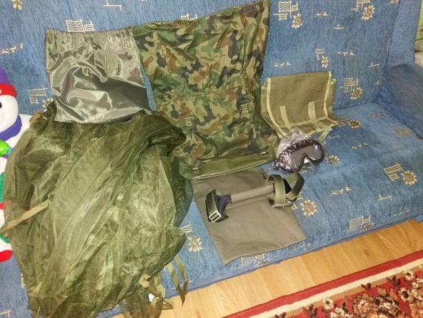 Akcesoria wojskowe plecak worek gogle