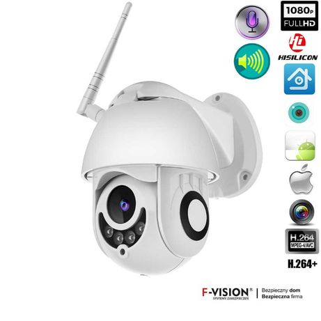 Obrotowa kamera WiFi bezprzewodowa SONY FullHD 2Mpx podglad ONLINE !!!