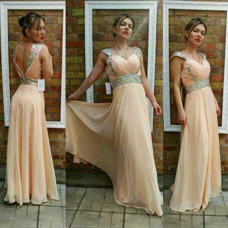 Шикарное платье в пол, выпускное, вечернее, свадебное swarovski.
