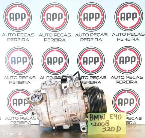 Compressor ar condicionado BMW E90, 320D, 2008 referência 447260-1851.