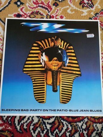 Płyta winylowa sleeping bag party on the patio blue jean blues