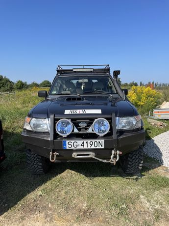 Nissan patrol y61 + pług 99r zamiana kamper