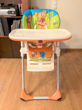 Cadeira Papa / Refeição - Chicco Polly - Laranja