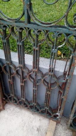 """Portão em Ferro Forjado """"Antigo"""" 2"""