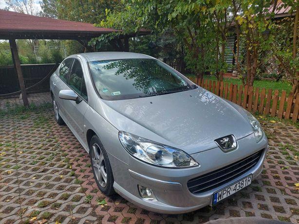 Peugeot 407 2.0B 143KM sedan 2009 rok zarejestrowany sprowadzony