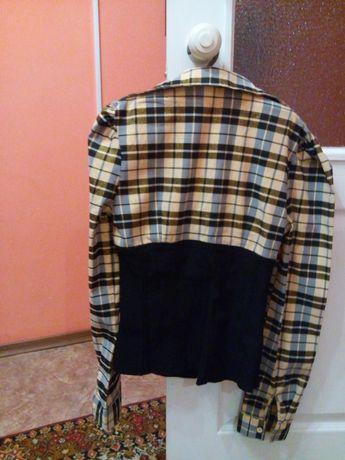Блузка рубашка корсет