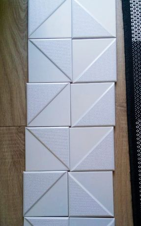 Dekor Tubądzin Reflection White 2 (14,8x14,8cm)