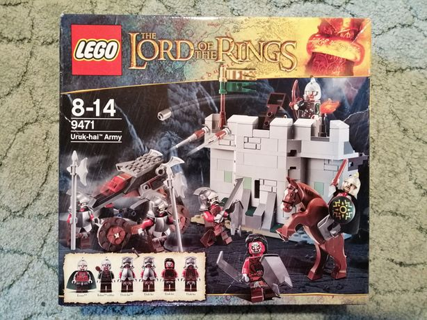 Lego 9471 Lord of the Rings Uruk-hai Army Władca Pierścieni NOWY