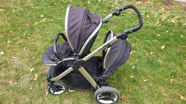 Wózek dziecięcy Oyster Max rok po roku podwójny tandem