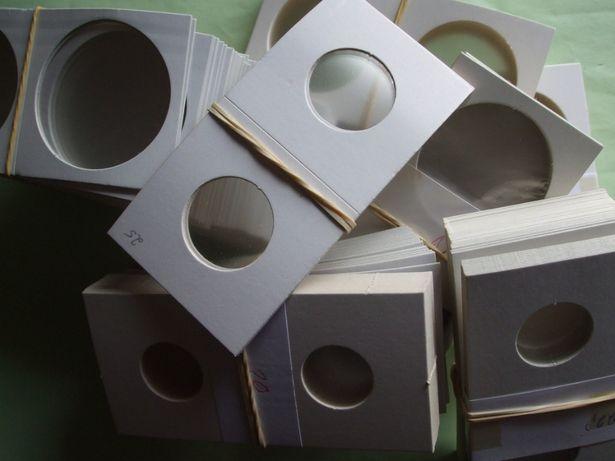 Moedas: Alvéolos Agrafar todas medidas do 17 mm ao 42 mm