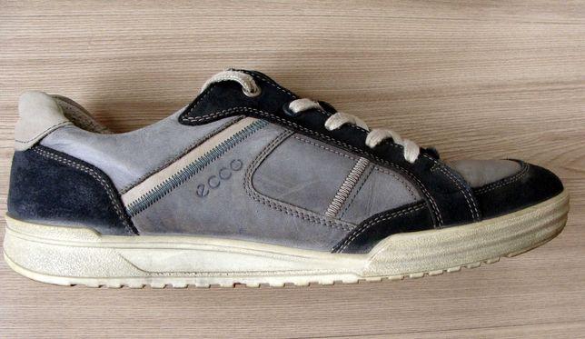 Ecco Fraser buty męskie sneakersy wiązane ze skóry Rozm 43