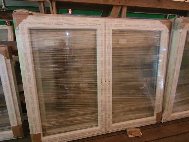 Okno 1465x1435 dwuskrzydłowe biale