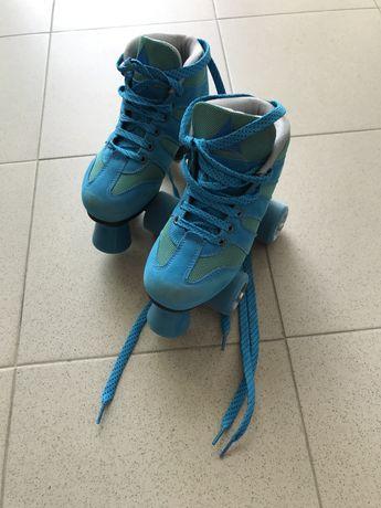 Patins hoquei em patins iniciação