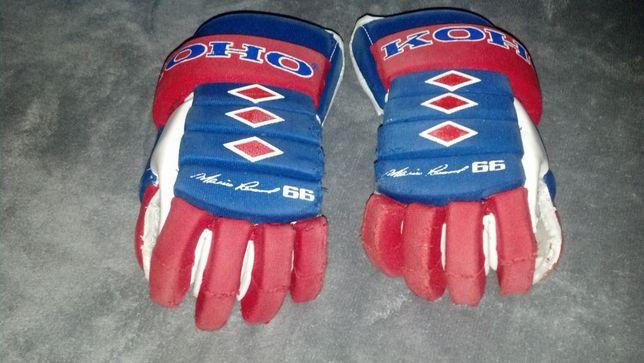 Rękawice hokejowe KOHO 120 Mario Lemieux 66 NHL