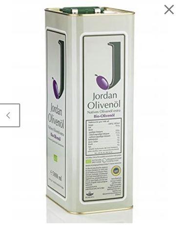 Oliwa z oliwek Jordan 5 l