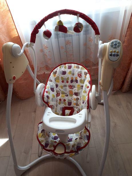 Детское кресло-качалка Graco