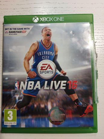 Gra NBA Live 16 Xbox One