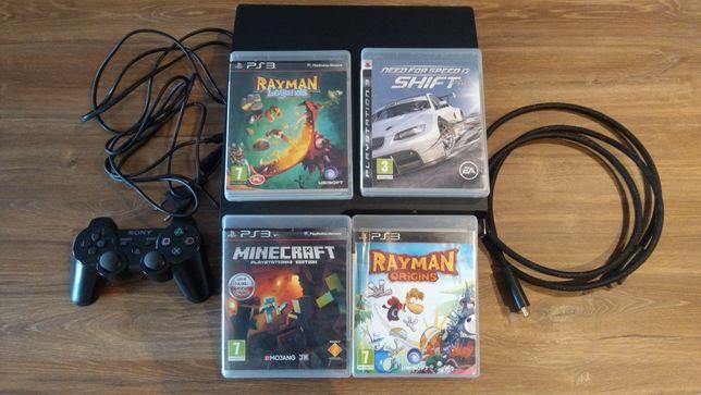 Playstation Ps3 320 gb + 37 gb  Rayman