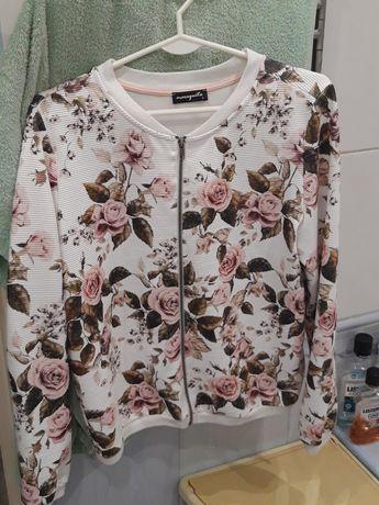 Bluza kwiaty L śliczna