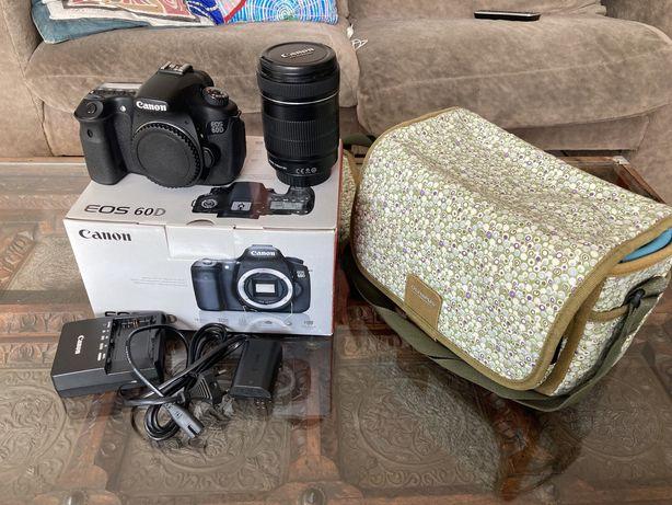 Canon 60D z obiektywem EFS 18-135mm