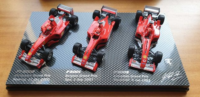 Set F1 Schumacher Hotwheels 1:43