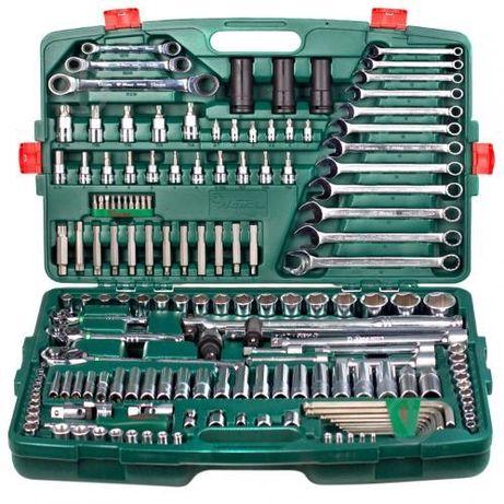 """HANS. Набор инструмента 163 предмета 1/4"""", 3/8"""",1/2"""" (6 гран.)"""