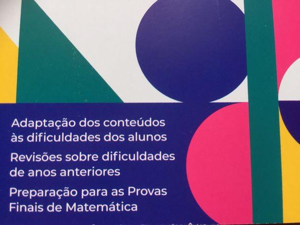 Explicações e Apoio de MATEMÀTICA online 1º, 2º e 3º Ciclo