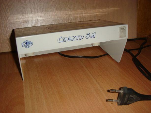 Ультрафиолетовый детектор валют Спектр-5М Б/у.