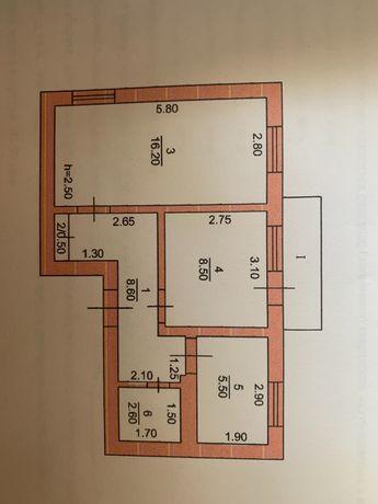 Продам квартиру в пгт Лиманское военный городок