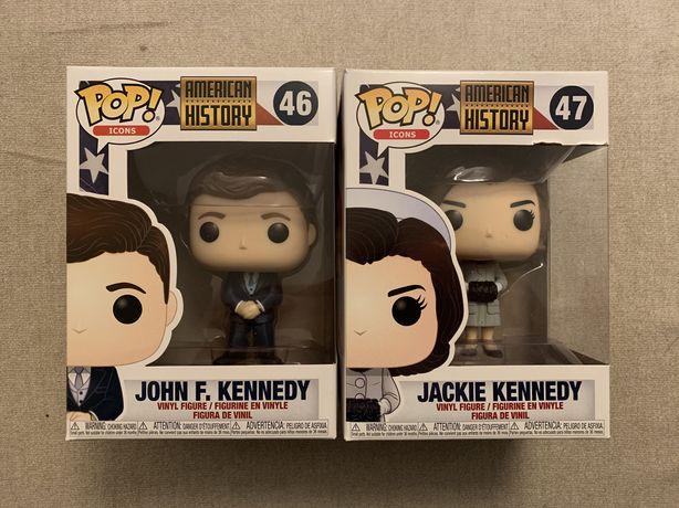 Funko Pop de John F. Kennedy e Jackie Kennedy