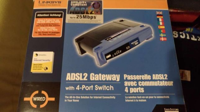 Router ADSL Linksys AG241