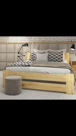 Łóżko 90x200 z materacem łodzieżowe dla dorosłych. Producent od ręki