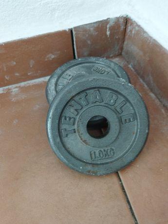 Peso halter - 1kg