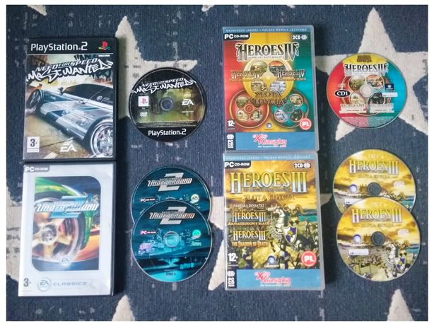 Pozostałości GTA Heroes Tekken NFS Underground Potter